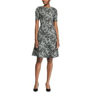 NWT $145 Ralph Lauren Womens 10 Floral Dress